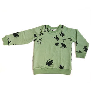 raglan sweater frog
