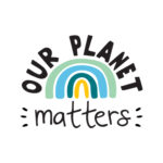 Our planet matters blauw